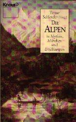 Schlender, Timur [Hrsg.]: Die  Alpen in Mythen, Märchen und Erzählungen Knaur 1609 Orig.-Ausg.
