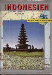 Martyr, Debbie: Indonesien Reiseführer und Reisekarte Ohne Angaben