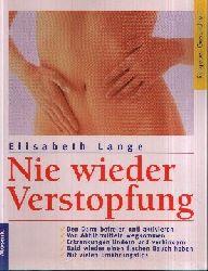 Lange, Elisabeth: Nie wieder Verstopfung Ratgeber Gesundheit