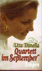 Danella, Utta: Quartett im September