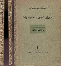 Menge Zimmermann und  Schrieder;  Mechanik-Aufgaben - Band 1 + 2 + 3 + 4 4 Bücher