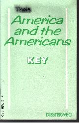 Dieter Langendorf:  America and the Americans Modelle für den neusprachlichen Unterricht Englisch
