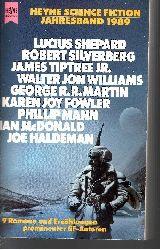 Wolfgang Jeschke: Heyne Science Fiction Jahresband 1989 (9 Romane und Erzählungen prominenter SF-Autoren)