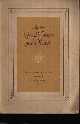 Hartung, Annina;  Aus dem Leben und Schaffen großer Musiker - Heft 1: Bach - Händel - Haydn - Mozart - Beethoven