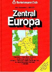 Autorengruppe; Euro-Autoatlas Zentraleuropa 2. Auflage