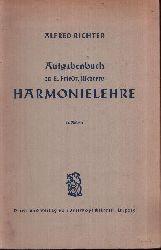 Richter, Alfred: Aufgabenbuch zu E. Friedr. Richters Harmonielehre 64. Auflage