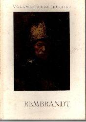 Alfred Stange: Rembrandt mit 48 teils mehrfarbigen Bildern