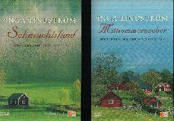 Lindström, Inga: Mittsommerzauber - Sehnsuchtsland 2 Bücher - Liebesgeschichten aus Schweden