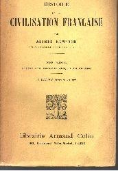 Alfred Rambaud;  Histoire de la Civilisation Francaise