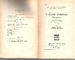 Auguste Bailly;  L´Ecole classique francaise