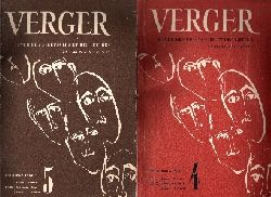 ohne Angaben; Verger - Revue des Spectacles et des Lettres en Allemagne Occupee No. 4 und 5 Premiere Annee