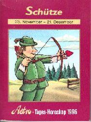 Astro-Redaktion Fimla (Herausgeber):  Schütze 23.11. - 21.12. - Ihr tägliches Horoskop