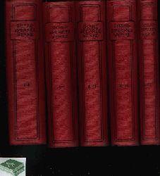 Keller, Wolfgang:  Shakespeares Werke in fünfzehn Teilen in 5 Bänden geschrieben - Band 1-4, 5-7, 8-11, 12-14, 15