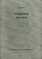 Alissow, Boris P., Dorothea Piotter und Heinrich Reinhard: Die  Klimate der Erde (ohne das Gebiet der UdSSR)