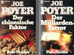 Poyer, Joe;  Der chinesische Faktor - Der Milliarden-Terror 2 Polit-Thriller