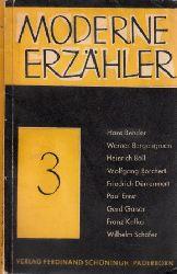 Aotorengruppe;  Moderne Erzähler 2, 3, 10, 11 4 Heftchen