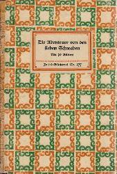 Aurbacher, Ludwig; Die Abenteuer von den sieben Schwaben mit 10 Bildern - Insel-Bücherei Nr. 277 16.-25. tausend