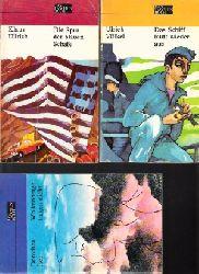 Iser, Dorothea, Ulrich Völkel und Klaus Ullrich;  Wolkenberge tragen nicht - Das Schiff läuft wieder aus - Die Spur der blauen Schafe 3 Taschenbücher