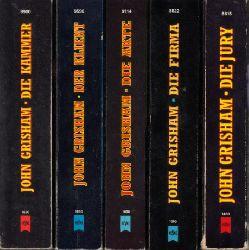 Grisham, John; Die Jury - Die Firma - Die Akte - Der Klient - Die Kammer 5 Bücher der Heyne Allgemeinen Reihe