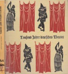 Schöne, Günter;  Tausend Jahre deutsches Theater 914-1914 Bibliothek des Germanischen National-Museums: Band 20/ 21