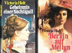 Holt, Victoria;  Herrin auf Mellyn - Geheimnis einer Nachtigall 2 Bücher