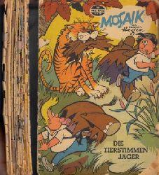 Ehrhardt, Hans;  Mosaik Nr. 66/1962, Nr. 69/1962, Nr. 70/1962, Nr. 77/1963, Nr. 36/1964, Nr. 87/1964, Nr. 90/1964, Nr. 95/1964, Nr. 98/1965, Nr. 99/1965, Nr. 110/1966, Nr. 117/1966, Nr. 118/1966 13 Mosaikhefte