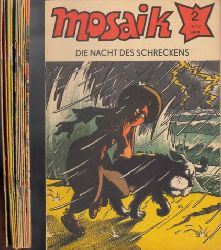 Autorengruppe; Mosaik Nr. 2/1977 bis 13/1977 12 Hefte
