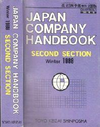 Autorengruppe; Japan Company Handbook - Second Section Winter 1988