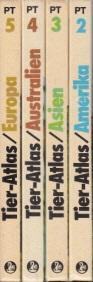 Autorengruppe; Tier-Atlas - Band 2, 3, 4, 5 4 Bände - Mit vielen farbigen Abbildungen und Karten