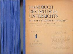 Beinlich, Alexander;  Handbuch des Deutschunterrichts im ersten bis zehnten Schuljahr - Lieferung 1-15 (in 10 Heften)