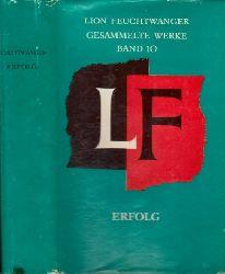 Feuchtwanger, Lion; Gesammelte Werke in Einzelausgaben Band 10: Drei Jahre Geschichte einer Provinz