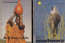 Ullrich, Wolfgang; Der Zoodirektor erzählt: Mit der Kamera in Afrika - Auf Reitelefanten durch Indien 2 Bücher