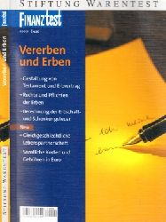 Backhaus, Beate und Eva Marie v. Münch; Vererben und Erben Stiftung Warentest 5., aktualisierte Auflage
