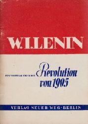 Lenin, W. I.;  Ein Vortrag über die Revolution von 1905
