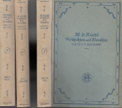 Riehl, W. H.;  W. H. Riehls Geschichten und Novellen Band 5, 6, 7 3 Bücher