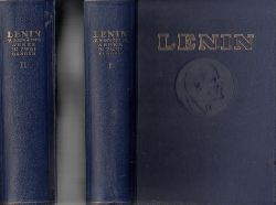 o.A.;  W.I. Lenin ausgewählte Werke in zwei Bänden - Band 1 + 2