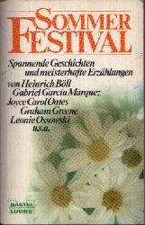 Wolf, Matthias:  Sommer Festival Spannende Geschichten und meisterhafte Erzählungen