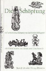 Waggerl, Karl Heiniich; Die Schöpfung und weitere Legenden mit vielen Holzschnitten von Ernst von Dombrowski 3- Auflage