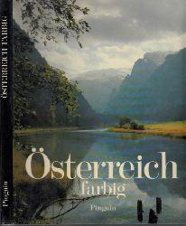 Scheibenpflug, Heinz und Maria Neusser-Hromatka;  Osterreich farbig