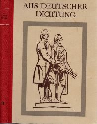 Autorengruppe;  Aus Deutscher Dichtung - zweiter Band