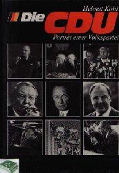 Kohl, Helmut; Die CDU Porträt einer Volkspartei
