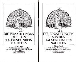 Littmann, Enno; Die Erzählungen aus den Tausendundein Nächten - Band 5 und 7 2 Bücher