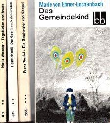 Autorengruppe;  Das Gemeindekind - Tagebücher und Briefe - Die Gescnwister von Neapel - Der Geschmack des Brotes 4 Bücher