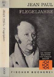 Paulli, Jean;  Flegeljahre