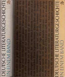 Geerdts, Hans Jürgen;  Deutsche Literaturgeschichte in einem Band