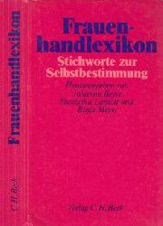 Beyer, Joiianna, Franziska Lamott und Birgit Meyer; Frauenhandlexikon - Stichworte zur Selbstbestimmung