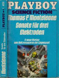 Monteleone, Thomas F.;  Sonate für drei Elektroden - 9 Stories von Spitzenautoren der Gegenwart