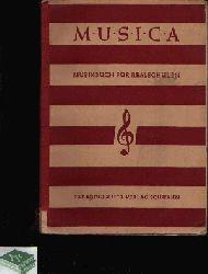 Alt, Michael und Joseph Eßer:  Musica Musikbuch für Realschulen - 1. Band