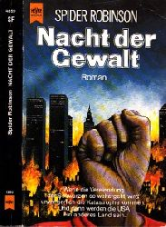 Robinson, Spider; Nacht der Gewalt - Science Fiction