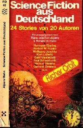 Alpers, Hans Joachim und Ronald M. Hahn;  Science Fiction aus Deutschland - 24 Stories von 20 Autoren